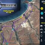 TRAZADO 40KM MOUNTAINBIKE TONGOY